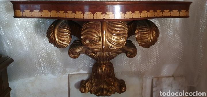 CONSOLA ESTILO NAPOLEON (Antigüedades - Muebles Antiguos - Consolas Antiguas)
