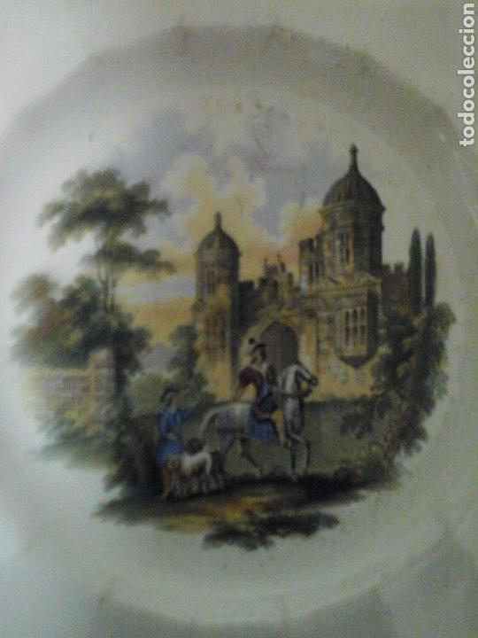 Antigüedades: Platos loza inglesa - Foto 2 - 207039402