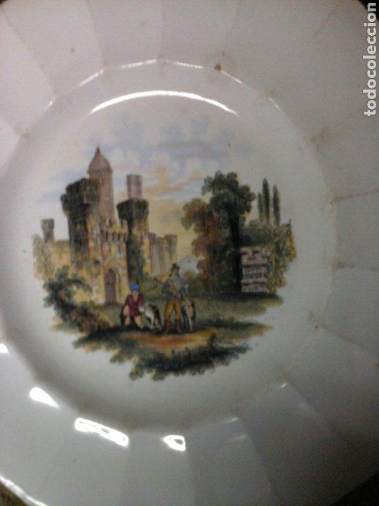 Antigüedades: Platos loza inglesa - Foto 4 - 207039402