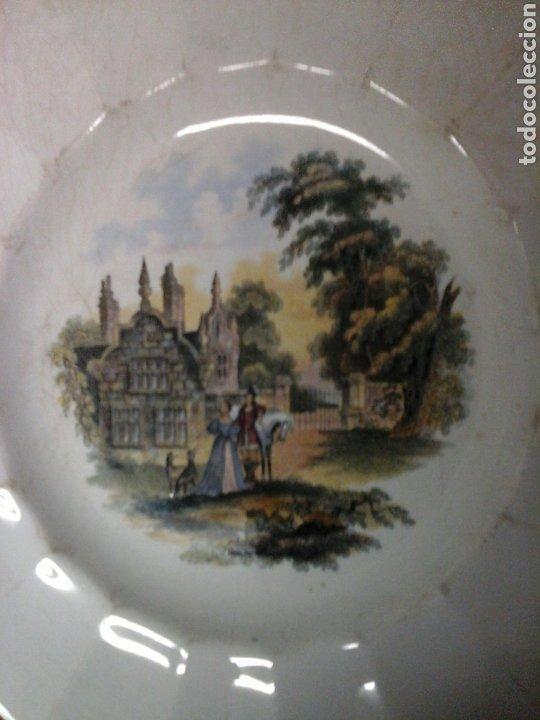 Antigüedades: Platos loza inglesa - Foto 5 - 207039402