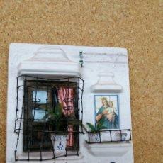 Antigüedades: BENDITERA VIRGEN Y NIÑO JESÚS / BAÑCONERA TÍPICA DE ROTA (CÁDIZ). Lote 207049302