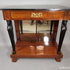 Antigüedades: CONSOLA IMPERIO. Lote 207060883