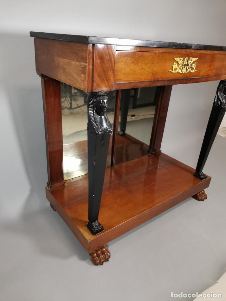 Antigüedades: consola imperio - Foto 7 - 207060883