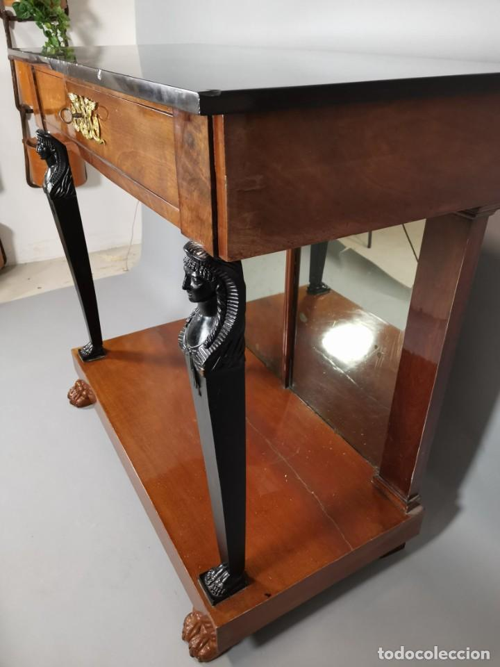 Antigüedades: consola imperio - Foto 10 - 207060883