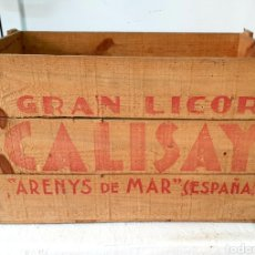 Antiguidades: CAJA DE CALISAY DE MADERA. Lote 207063858