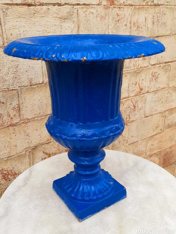 Antigüedades: Copa - macetero - jardinera antigua francesa - Foto 2 - 207081043