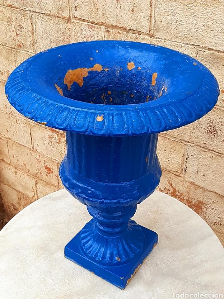 Antigüedades: Copa - macetero - jardinera antigua francesa - Foto 3 - 207081043