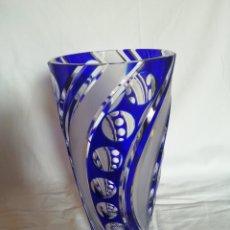 Antiquités: PRECIOSO FLORERO CRISTAL MURANO. Lote 207082832