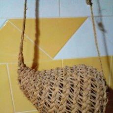 Antigüedades: CARACOLERA DE ESPARTO. Lote 207089087