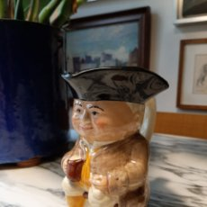 Antigüedades: JARRA DE PORCELANA STAFFORDSHIRE - TONY WOOD - INGLATERRA - MAMBRÚ. Lote 207095293