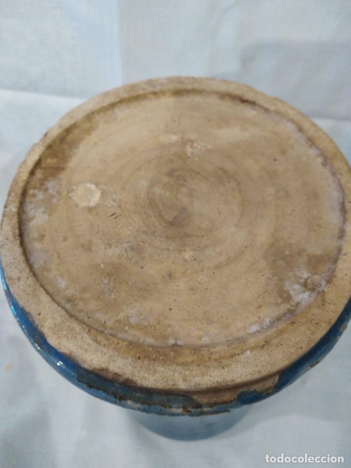 Antigüedades: ALVARELO, BOTE FARMACIA DE TALAVERA S. XVIII - Foto 3 - 207120570