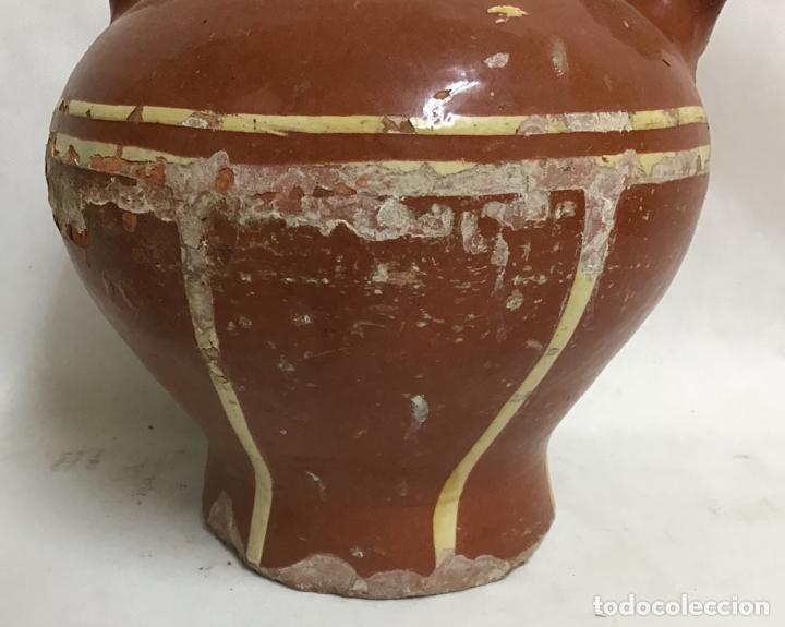 Antigüedades: ANTIGUO BOTIJO DECORADO, LA BISBAL - Foto 2 - 207128343