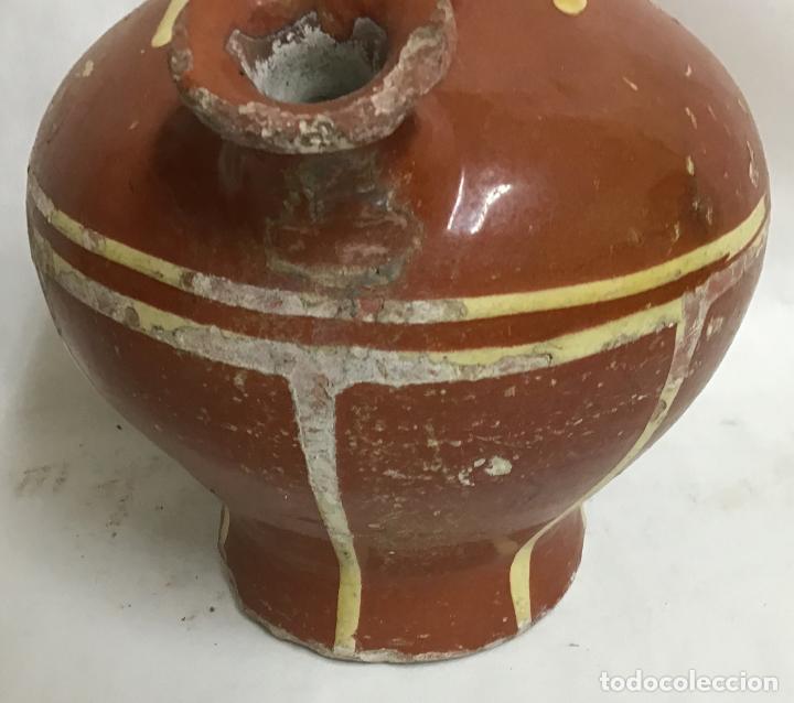 Antigüedades: ANTIGUO BOTIJO DECORADO, LA BISBAL - Foto 4 - 207128343
