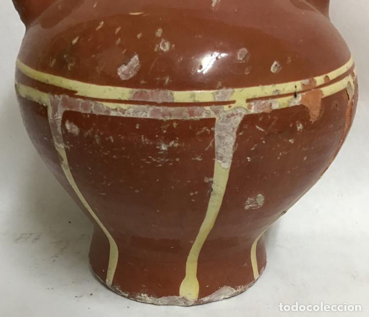 Antigüedades: ANTIGUO BOTIJO DECORADO, LA BISBAL - Foto 5 - 207128343