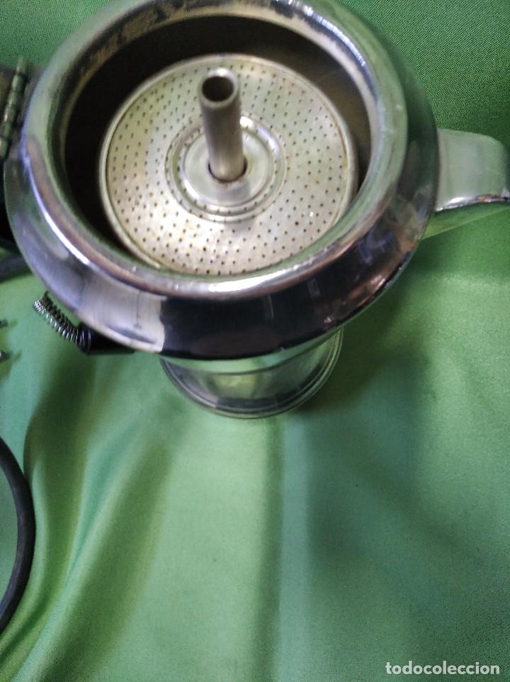Antigüedades: Cafetera electrica antigua mediados siglo xx perfecta funcionando - Foto 5 - 207144665