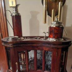 Antigüedades: MESITA BAR COLONIAL MESA LICORERA. Lote 207147405