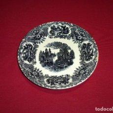 Antigüedades: PLATO HONDO DE LA CARTUJA DE SEVILLA-PICKMAN.22.5 CM.. Lote 207147480