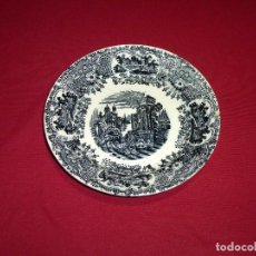 Antigüedades: PLATO HONDO DE LA CARTUJA DE SEVILLA-PICKMAN.22.5 CM.. Lote 207147520