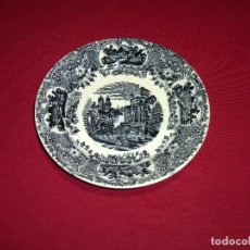 Antigüedades: PLATO HONDO DE LA CARTUJA DE SEVILLA-PICKMAN.22.5 CM.. Lote 207147586