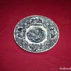 Antigüedades: PLATO HONDO DE LA CARTUJA DE SEVILLA-PICKMAN.18.5 CM.. Lote 207147845