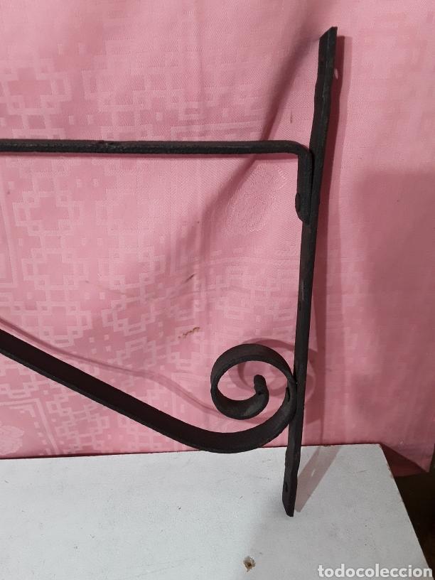 Antigüedades: Palomilla de forja para lampara - Foto 2 - 207175795
