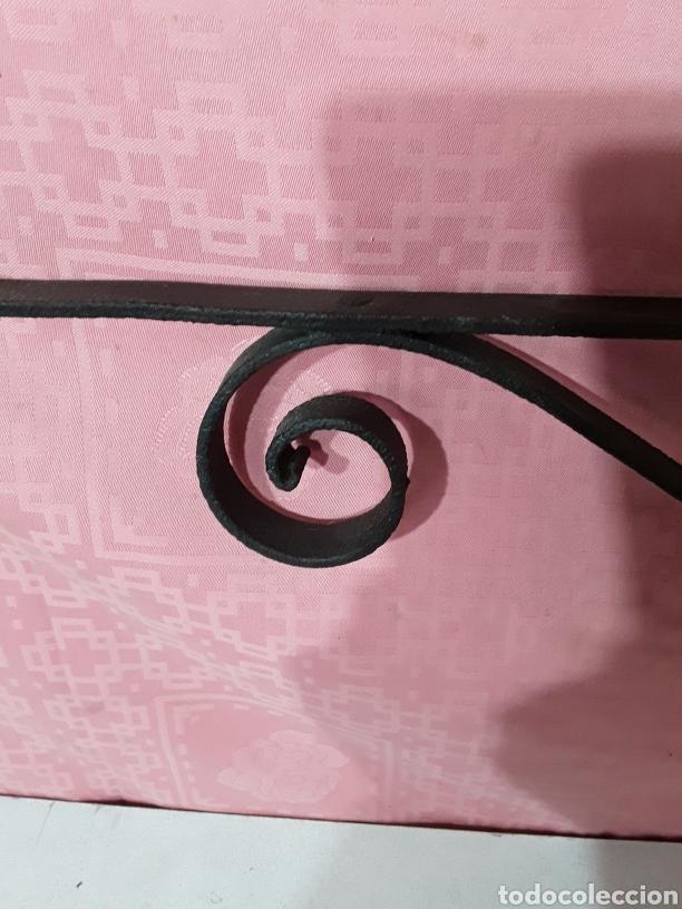 Antigüedades: Palomilla de forja para lampara - Foto 3 - 207175795