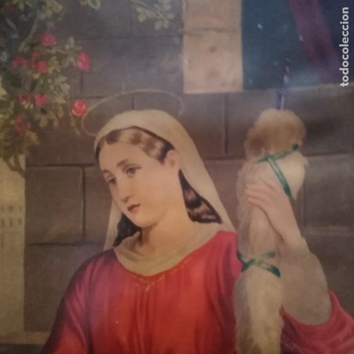 Antigüedades: La Sagrada Familia, siglo xix - Foto 3 - 207202773