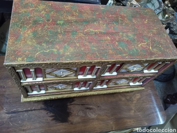 Antigüedades: Bargueño policromado - Foto 3 - 207206341
