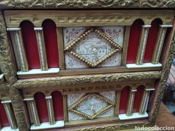 Antigüedades: Bargueño policromado - Foto 8 - 207206341