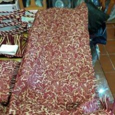 Antigüedades: CORTINA DE SEDA. Lote 207225217