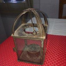 Antigüedades: ANTIGUO FAROL DE ACEITE - LAMPARILLA - CANDIL - PRINCIPIOS SIGLO XX. Lote 207225535