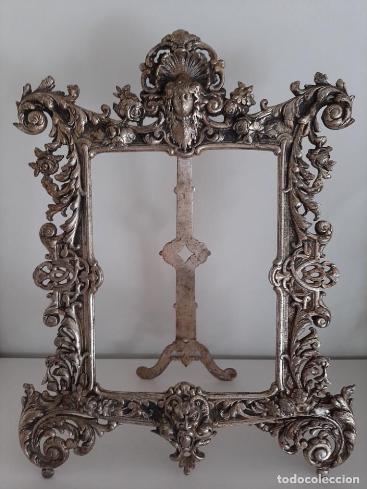 PRECIOSO MARCO BARROCO S. XVIII (Antigüedades - Hogar y Decoración - Marcos Antiguos)