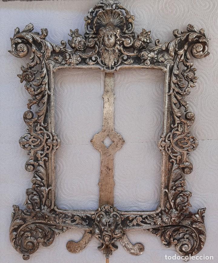 Antigüedades: Precioso marco barroco s. XVIII - Foto 7 - 207225946