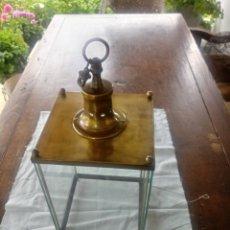 Antigüedades: FAROL DE TECHO DE BRONCE. Lote 207228220
