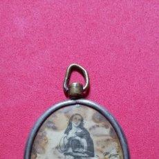 Antigüedades: ANTIGUA MEDALLA TIPO RELICARIO SAN FRANCISCO DE ASIS. Lote 207239576