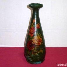 Antigüedades: ANTIGUO JARRON DE BARRO.38 X 15 CM.. Lote 207248225