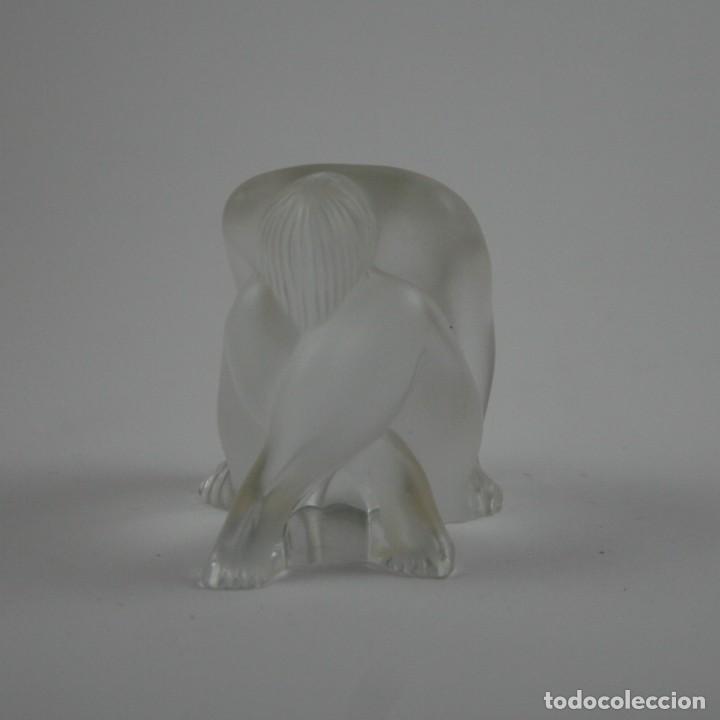 FIGURA ESTILO RENE LALIQUE (Antigüedades - Cristal y Vidrio - Lalique )