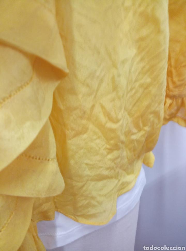 Antigüedades: Camisa seda amarilla art deco - Foto 7 - 207252475