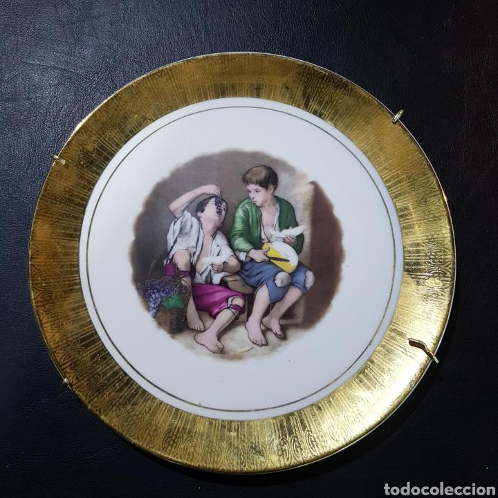 Antigüedades: LOTE DE 2 PLATO DECORATIVOS - Foto 2 - 207260290