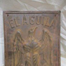 Antigüedades: PLACA O CHAPA DE HIERRO - EL ÁGUILA - PARIS 1843 / RARA. Lote 207260398