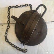 Antigüedades: ANTIGUA TRAMPA PARA ANIMALES, EN BUEN ESTADO, FUNCIONA,. Lote 207274137