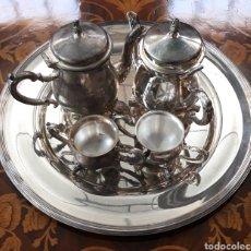 Antigüedades: CONJUNTO DE CAFE. Lote 207290786