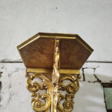 Antigüedades: PEANA O MENSULA DE MADERA. Lote 207295382