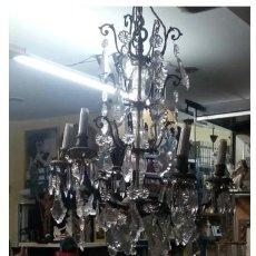 Antigüedades: LAMPARA DE TECHO. SIGLO XVIII / XIX. Lote 207296998
