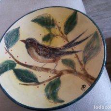 Antigüedades: * PLATO FIRMADO DE EUSEBIO DIAZ COSTA. (RF:B/G). Lote 207302427
