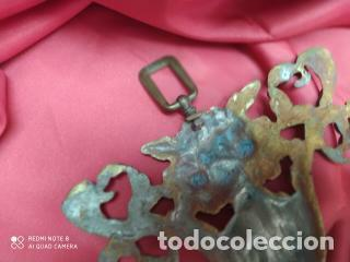 Antigüedades: Espectacular fornitura modernista de bronce finales de siglo XIX. Caja 3 - Foto 3 - 207336277