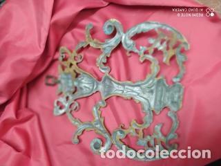 Antigüedades: Espectacular fornitura modernista de bronce finales de siglo XIX. Caja 3 - Foto 4 - 207336277