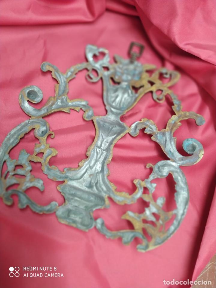 Antigüedades: Espectacular fornitura modernista de bronce finales de siglo XIX. Caja 3 - Foto 6 - 207336277