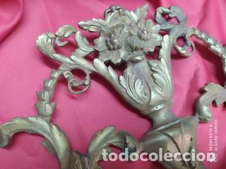 Antigüedades: Espectacular fornitura modernista de bronce finales de siglo XIX. Caja 3 - Foto 7 - 207336277