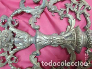 Antigüedades: Espectacular fornitura modernista de bronce finales de siglo XIX. Caja 3 - Foto 15 - 207336277